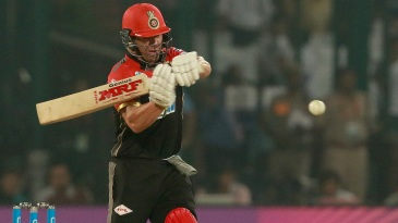 AB de Villiers shapes to pull one away