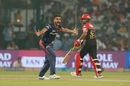 Harshal Patel's appeal for lbw was struck down, Delhi Daredevils v Royal Challengers Bangalore, IPL 2018, Delhi, May 12, 2018