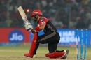 Mandeep Singh perished trying to slog towards the leg side, Delhi Daredevils v Royal Challengers Bangalore, IPL 2018, Delhi, May 12, 2018