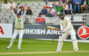 Shadab Khan fell lbw although may have been unlucky, Ireland v Pakistan, Only Test, Malahide, 3rd day, May 13, 2018