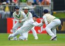 Andy McBrine, on as a substitute, spilled a catch in the slips, Ireland v Pakistan, Only Test, Malahide, 3rd day, May 13, 2018