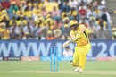 Shane Watson frees his arms, Chennai Super Kings v Sunrisers Hyderabad, IPL 2018, Pune, May 13, 2018