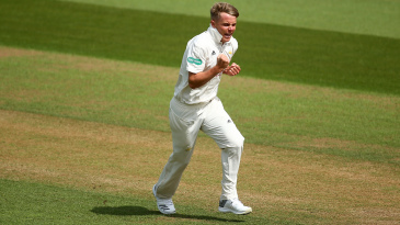 Sam Curran took six Yorkshire wickets