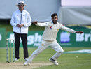 Shadab Khan celebrates, Ireland v Pakistan, Only Test, Malahide, 3rd day, May 13, 2018