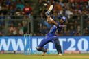 Hardik Pandya arches back to ramp, Mumbai Indians v Rajasthan Royals, IPL, Mumbai, May 13, 2018