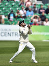 Babar Azam settles under the catch to remove Paul Stirling, Ireland v Pakistan, Only Test, Malahide, 3rd day, May 13, 2018