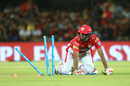 R Ashwin is run out, Kings XI Punjab v Royal Challengers Bangalore, IPL 2018, Indore, May 14, 2018