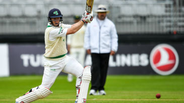 Kevin O'Brien scored Ireland's maiden Test fifty