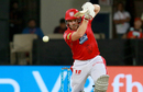 Aaron Finch plays one on the up, Kings XI Punjab v Royal Challengers Bangalore, IPL 2018, Indore, May 14, 2018