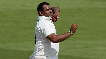 Samit Patel in action for Nottinghamshire