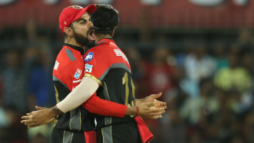 Virat Kohli lets out a roar