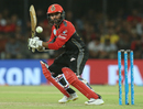 Parthiv Patel steers one towards third man, Kings XI Punjab v Royal Challengers Bangalore, IPL 2018, Indore, May 14, 2018