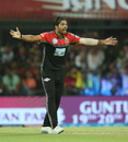 Umesh Yadav appeals for a wicket, Kings XI Punjab v Royal Challengers Bangalore, IPL 2018, Indore, May 14, 2018