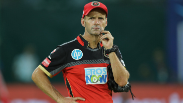 Gary Kirsten spends some time by himself