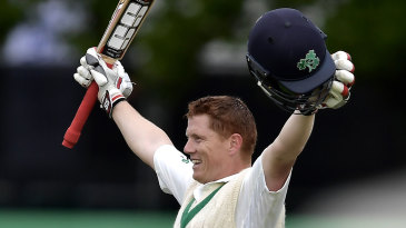 A magical moment: Ireland's first Test century came from Kevin O'Brien