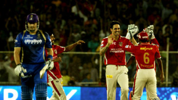 The super-over finish between Kings XI Punjab and Rajasthan Royals in 2015 was one of seven such finishes so far
