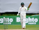 Imam-ul-Haq brought up a fifty on Test debut, Ireland v Pakistan, Only Test, Malahide, 5th day, May 15, 2018