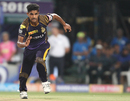 Shivam Mavi chases after a ball, Kolkata Knight Riders v Rajasthan Royals, IPL 2018, Kolkata, May 15, 2018