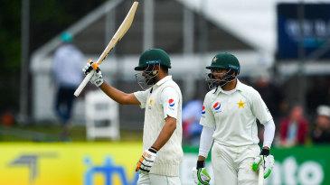 Babar Azam acknowledges his half-century