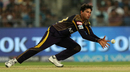 Kuldeep Yadav shapes to take a catch, Kolkata Knight Riders v Rajasthan Royals, IPL 2018, Kolkata, May 15, 2018