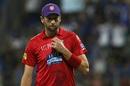 Andrew Tye sports the purple cap, Mumbai Indians v Kings XI Punjab, IPL 2018, Mumbai, May 16, 2018