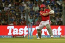 Aaron Finch targets the off side, Mumbai Indians v Kings XI Punjab, IPL 2018, Mumbai, May 16, 2018
