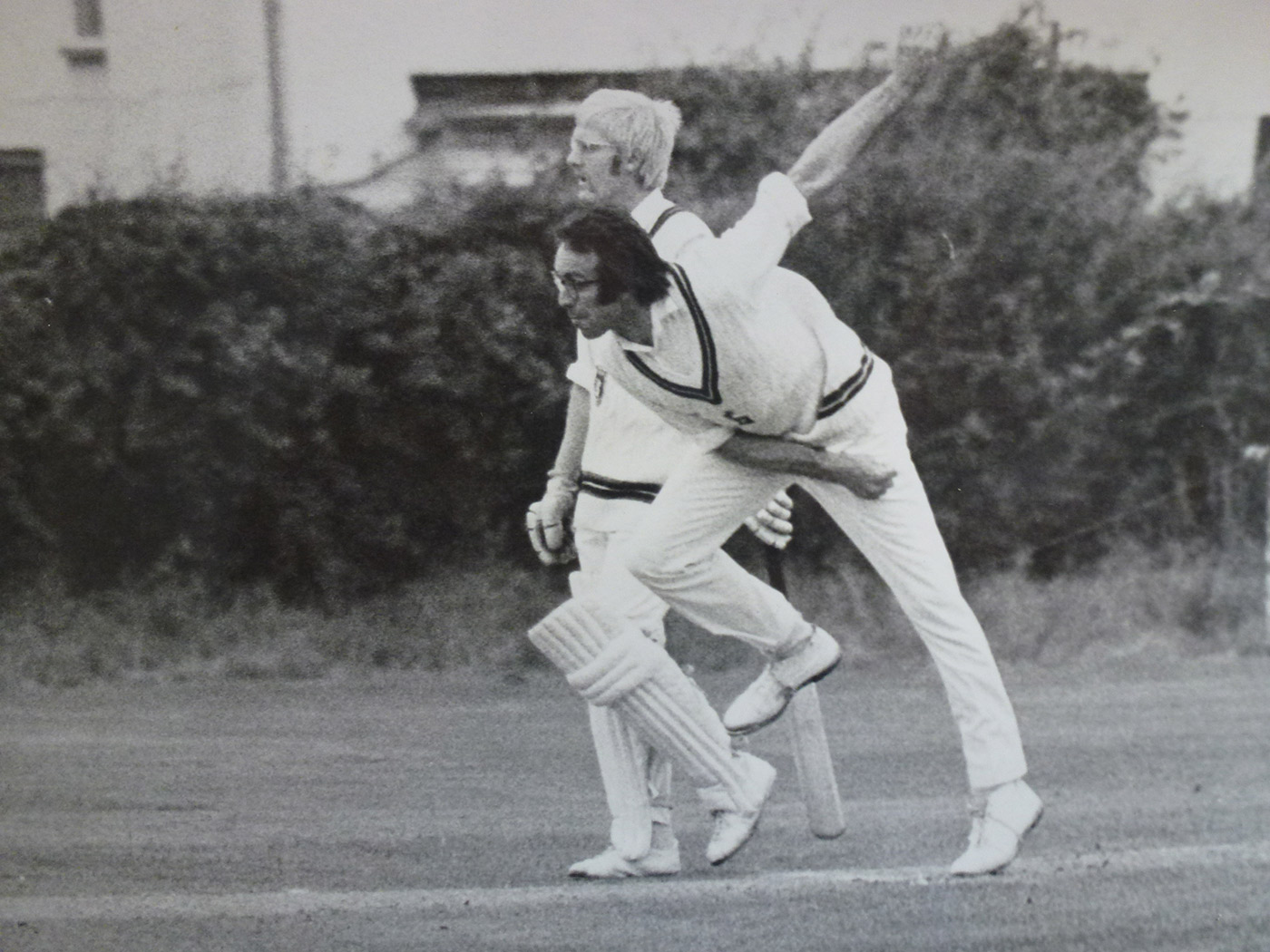 Brian Collins, who took four wickets for Minor Counties in their win against Australia in 1977