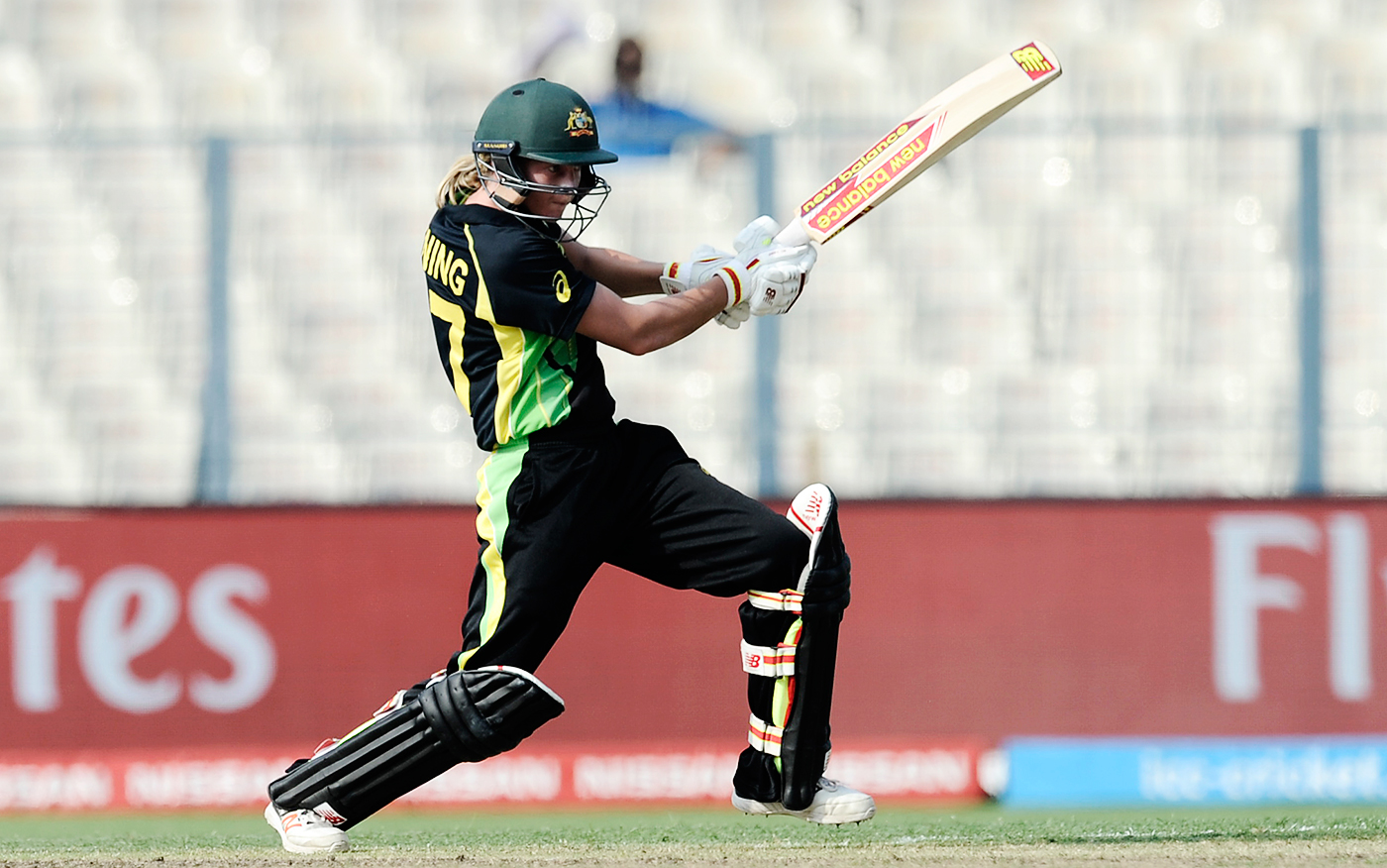 Numbers game: Lanning holds the record for the most ODI hundreds and is likely to become the highest run getter in the format well before the end of her career