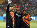 VVS Laxman, Ashish Nehra, Muttiah Muralitharan and the retired players' club, Royal Challengers Bangalore v Sunrisers Hyderabad, IPL, Bengaluru, May 17, 2018