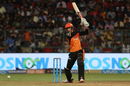 Alex Hales drills a drive through cover, Royal Challengers Bangalore v Sunrisers Hyderabad, IPL 2018, Bengaluru, May 17, 2018