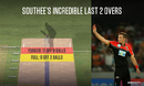 Tim Southee bowled nine yorkers in his last two overs against Sunrisers Hyderabad
