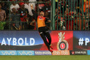 Rashid Khan sticks out his right hand in time, Royal Challengers Bangalore v Sunrisers Hyderabad, IPL, Bengaluru, May 17, 2018