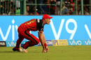 Tim Southee thought it was a clean catch, but the third umpire ruled otherwise, Royal Challengers Bangalore v Sunrisers Hyderabad, IPL, Bengaluru, May 17, 2018