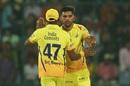 Deepak Chahar earned Chennai Super Kings' first wicket, Delhi Daredevils v Chennai Super Kings, IPL 2018, Delhi, May 18, 2017