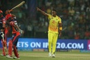 Lungi Ngidi is ecstatic after dismissing Rishabh Pant, Delhi Daredevils v Chennai Super Kings, IPL 2018, Delhi, May 18, 2017