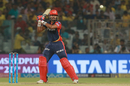 Shreyas Iyer waits to play an upper cut, Delhi Daredevils v Chennai Super Kings, IPL 2018, Delhi, May 18, 2017