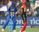 K Gowtham scythes through Virat Kohli's defence, Rajasthan Royals v Royal Challengers Bangalore, IPL, Jaipur, May 19, 2018