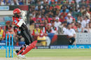 Parthiv Patel watches the ball closely as he ramps one over, Rajasthan Royals v Royal Challengers Bangalore, IPL, Jaipur, May 19, 2018