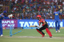 Mandeep Singh looks behind to find himself well short, Rajasthan Royals v Royal Challengers Bangalore, IPL, Jaipur, May 19, 2018