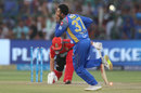 Shreyas Gopal can't quite believe it after outfoxing AB de Villiers, Rajasthan Royals v Royal Challengers Bangalore, IPL, Jaipur, May 19, 2018