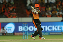 Shreevats Goswami pulls one away, Sunrisers Hyderabad v Kolkata Knight Riders, IPL 2018, Hyderabad, May 19, 2018