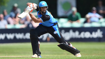 Ross Whiteley struck a rapid half-century