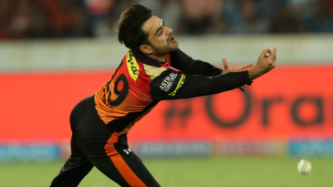 Rashid Khan drops a catch