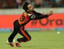 Rashid Khan drops a catch, Sunrisers Hyderabad v Kolkata Knight Riders, IPL 2018, Hyderabad, May 19, 2018