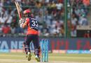 Glenn Maxwell flicks one fine, Delhi Daredevils v Mumbai Indians, IPL 2018, Delhi, May 20, 2018