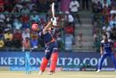 Glenn Maxwell is bowled off an inside edge, Delhi Daredevils v Mumbai Indians, IPL 2018, Delhi, May 20, 2018