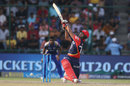 Rishabh Pant closes his eyes and swings at one, Delhi Daredevils v Mumbai Indians, IPL 2018, Delhi, May 20, 2018