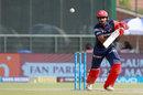 Vijay Shankar punches into the off side, Delhi Daredevils v Mumbai Indians, IPL 2018, Delhi, May 20, 2018