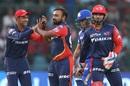 Amit Mishra struck in successive overs to bring Daredevils back, Delhi Daredevils v Mumbai Indians, IPL 2018, Delhi, May 20, 2018