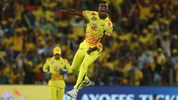 Lungi Ngidi leaps after dismissing KL Rahul
